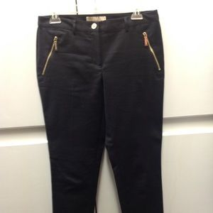 Michael Kors Black Stretch pants size 4.